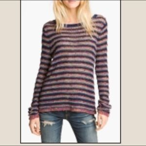 Rag & Bone Multi-color Striped Sweater Size XS